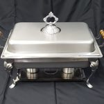 CHAFING DISH, 8 QT. STAINLESS STEEL
