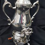 COFFEE URN- SILVER- 50 CUPS