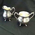 COFFEE- CREAM PITCHER OR SUGAR DISH- SILVER
