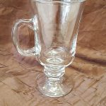 GLASSES, IRISH COFFEE MUGS, (RACK OF 25)