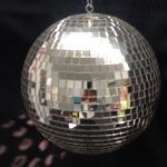 MIRRORED DISCO BALL, MOTORIZED, 12″