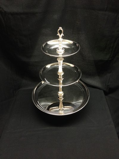 TRAY, 3 TIERED