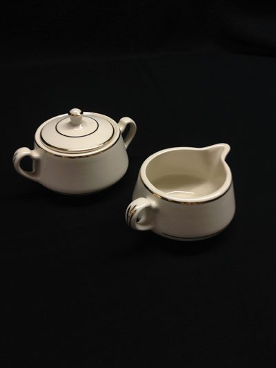 IVORY CREAMER OR SUGAR
