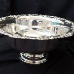 PUNCH BOWL, 2.5 GAL. SILVER