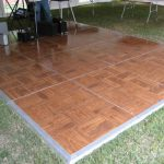 DANCE FLOOR – OUTDOOR, WOOD (PARQUET)