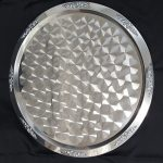 TRAY, STAINLESS, 25″ ROUND