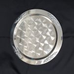 TRAY, STAINLESS, 15″ ROUND