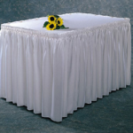 SKIRTING, 13′, WHITE